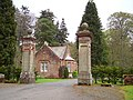 Gate and Lodge, Portmore. - geograph.org.uk - 165190.jpg