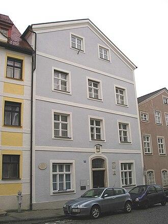 Max von Widnmann - Birthplace of Max von Widnmann in Eichstätt