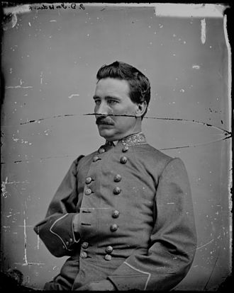 John D. Imboden - John Daniel Imboden in military uniform
