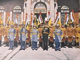 Manchukuo Imperial Army - Manchukuo Imperial Army generals