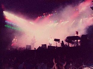 I Genesis in un'esibizione del 1982