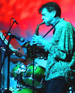 Geoff Leigh performing at the Avantgarde Festi...