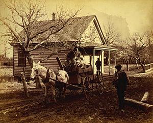 George Barker (photographer) - Image: George Barker, Wayside scene, Stony Creek, Virginia cph.3g 02321