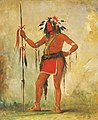 George Catlin - Cáh-be-múb-bee, He Who Sits Everywhere, a Brave - 1985.66.187 - Smithsonian American Art Museum.jpg