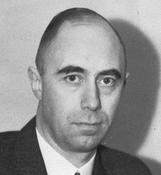 Gerardus Huysmans - Huysmans in 1945