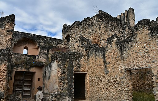 Gereza Fort on Kilwa Kisiwani, built by the Omanis in early 18th cent. on ruins of Portuguese fort of 16th cent (1) (28784177880)