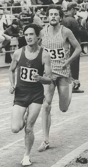 Kenny Moore - Moore (right) in 1971