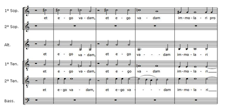 partition pour ensemble vocal