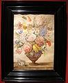 Giovanna garzoni, fiori in un vaso con conchiglia, tempera e matita su pergamena, 45x35 cm, collez. privata.JPG