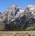 Glacier on Mt. Moran, Grand Tetons 9-2011 (6846740063).jpg