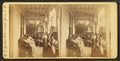Glendon House. Group sitting in the verandah, by E. T. Brigham.png