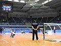 Goalball-2019 Asia-Pac Regional JPN-INA M throw.jpg