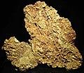 Gold vein stockwork in limonite (Gold Flake Vein, Farncomb Hill, near Breckenridge, Colorado, USA) 3 (17078770851).jpg