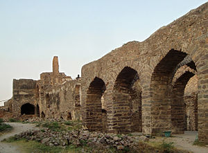 Forts in India - Ruins of Golkonda Fort, Hyderabad