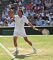 Goran Ivanisevic serve Wimbledon 2004 (cropped).jpg