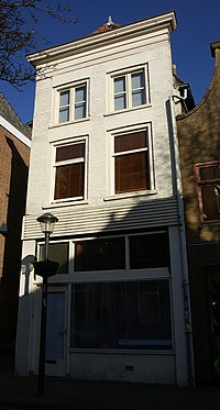 Gorinchem - rijksmonument 16647 - Molenstraat 21 20120311.jpg
