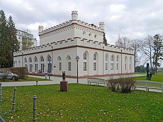 Gothic House (Bad Homburg) - The Gotisches Haus from the north-west