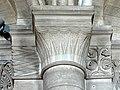 Gournay-en-Bray (76), collégiale St-Hildevert, bas-côté nord, chapiteaux du 4e pilier libre, côté nord.jpg