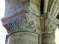 Gournay-en-Bray (76), collégiale St-Hildevert, bas-côté nord, chapiteaux du 5e pilier libre, côté nord-est.jpg