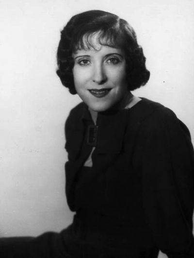 Gracie Allen, American actress and comedienne