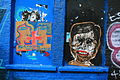 Graffiti in Shoreditch, London - Anna Laurini, From caring comes courage (13821297734).jpg