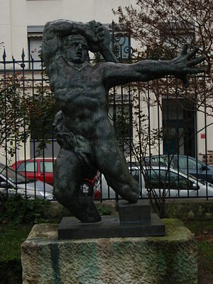 Monument aux Morts de Montauban - Study for the Monument, Musée Bourdelle, Paris