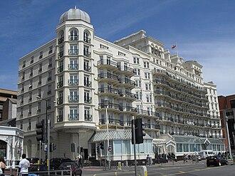 Grand Brighton Hotel - The Grand Brighton, from the southwest
