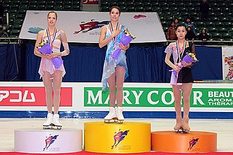 2010–11 Grand Prix of Figure Skating Final - The ladies' medalists