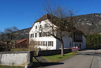 Grandval, Switzerland - Buildings in Grandval