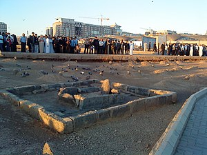 Ibrahim ibn Muhammad - Grave of Ibrahim at Jannat-ul-Baqi, Medina