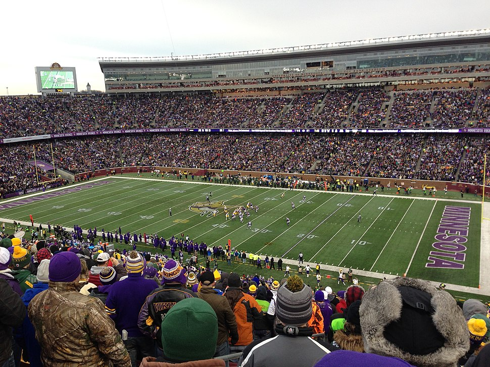 Green Bay Packers at Minnesota Vikings 22 Nov 2015