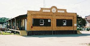 West Penn Railways - Former freight station in Greensburg