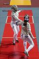 Gregorio v Gavrilova 2014 Orleans Sabre Grand Prix t115009.jpg