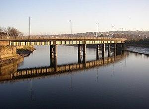 Greyhound Bridge - Image: Greyhound Bridge, Lancaster geograph.org.uk 652095