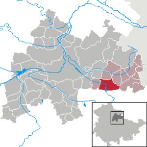 Großbrembach - Image: Großbrembach in SÖM