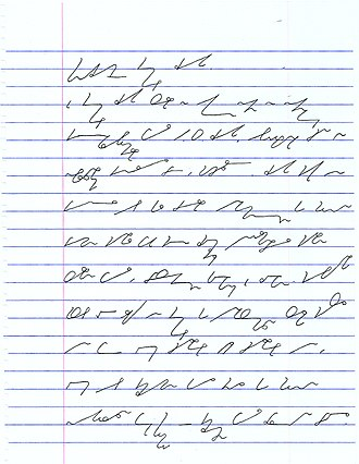 "Shorthand - Dutch stenography using the ""System Groote"""