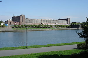 Seat of the European Central Bank - Image: Grossmarkthalle 002