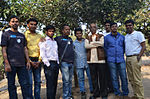 Group photo - Odia Wikipedians during Odia Wikipedia 10 at Sikharchandi, Bhubaneswar.JPG
