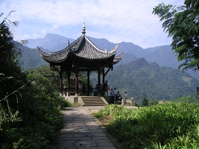 File:Guangfu pavilion at Mount Emei.JPG