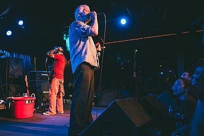 Guided By Voices performing in 2014