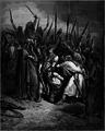 Gustave Doré, Death of Agag, La Sainte Bible, 1866.png