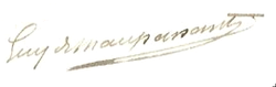 Guy de Maupasant Signature.png