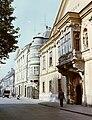 Győr, Széchenyi tér, Xantus János Múzeum (Apátúr ház). Fortepan 20992.jpg