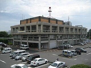 Gyōda City in Kantō, Japan