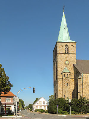 Hörstel - Image: Hörstel, katholische Pfarrkirche Sankt Antonius Dm 129 foto 1 2013 09 30 13.35