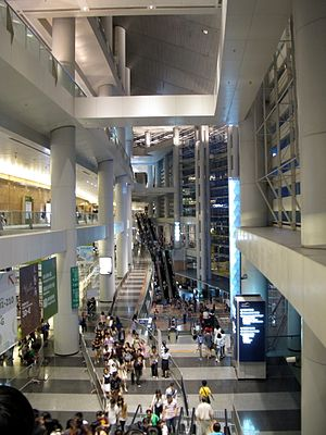 Hong Kong Convention and Exhibition Centre - Interior of Phase 2 of the Centre
