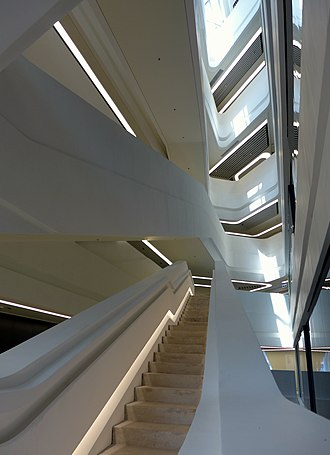 Innovation Tower - Image: HKPU Innovation Tower Stairs 201403