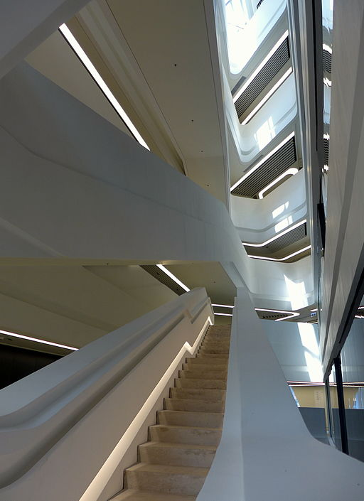 HKPU Innovation Tower Stairs 201403