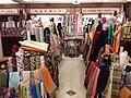 HK 上環 Sheung Wan 西港城 Western Market 花布街 Cloth shop January 2019 SSG 08.jpg