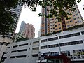 HK 堅尼地城 Kennedy Town 加多近街 Cadagan Street 百年大樓 Centenary Mansion indoor carpark building Victoria Road Oct-2015 DSC.JPG